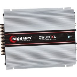 Taramps DS800X4 Τετρακάναλος Ενισχυτής Αυτοκινήτου 4 x 200W