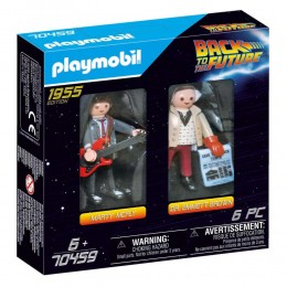 Playmobil Other: Back to the Future Marty Mcfly and Dr. Emmet Brown (70459) (PLY70459)