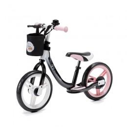 Παιδικό Ποδήλατο Ισορροπίας Με Αξεσουάρ KinderKraft Space Χρώματος Ροζ KKRSPACPNK00AC