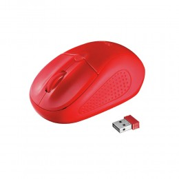 Trust Primo Wireless Mouse - red (20787) (TRS20787)