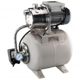 NAKAYAMA Pro NP2105 Πιεστικό Συγκρότημα Νερού Jet INOX με Δοχείο 19Ltr 800W - 1,1Hp